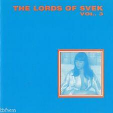 The Lords Of Svek Vol. 3  - CD - SKCD 004 - TECHNO TECH HOUSE DEEP HOUSE '98