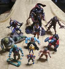 "McFarlane Toys LOT of 12 Spawn 12"" Thunder Cats Buck Rogers Shrek Action Figures"