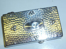 VINTAGE imperatore Lighter with 800 Silver Case/Coat-Hammerton Look-RARE
