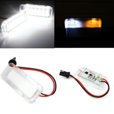 2x LED Number Plate Lamps License Plate Light For Ford Mondeo Mk4 Mk5 2007-2017