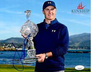 Jordan Spieth signed 8x10 Photo JSA COA Masters Winner US Open B489