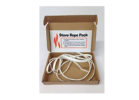 Stove Door Replacement Fibreglass Rope Sealing Strip for Woodburner Multifuel