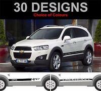 Chevrolet Captiva Seitenstreifen Aufkleber Sticker Grafik Seitenstreifen