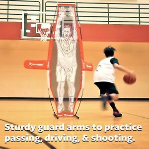 GoSports Basketball Xtraman Dummy Defender Foldable Training Shooting Mannequin