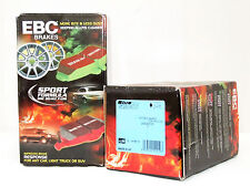 Audi RS4 RS6 Front /& Rear Set EBC Bluestuff Race//Track Brake Pads