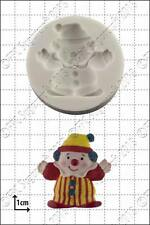 Moule silicone clown | usage alimentaire FPC Sugarcraft expédition gratuite R-U!