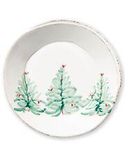 Vietri Lastra Holiday European Dinner Plate - Set of 4