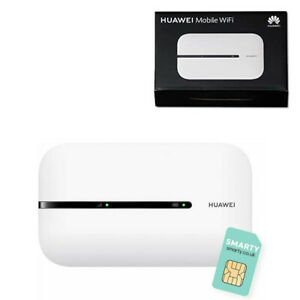 Huawei E5576-320 Travel Hotspot Portable 4G Low Cost White Mobile WiFi &Free Sim
