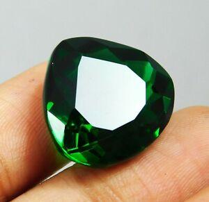 15.40 Ct Green Tourmaline Pear Shape Loose Gemstone I-3403