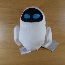 Disney WALL-E Wall E Eve Plush Soft Stuffed Mini Bean Bag 7'' Toy