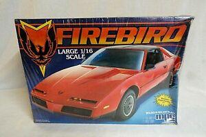 WOW! VINTAGE 1982 MPC PONTIAC FIREBIRD 1/16 LARGE FACTORY SEALED MODEL CAR KIT!