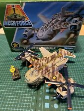 Kenner Mega Force - V ROCS THUNDERWOLF With Die Cast Missile Launcher 1989 Boxed