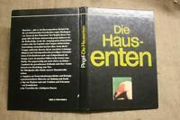 Fachbuch Enten, Entenzucht, Hausente, Haltung, Arten, Stallbau, DDR 1989