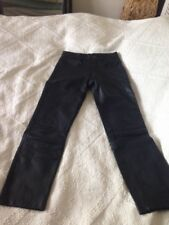 Pantalon Cuir Noir Femme Taille 1  Motomob Moto
