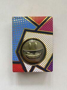 Ron English The Campus Coin Popaganda Gold Collectible Grin Smiley Rare Limited