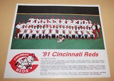 1991 Cincinnati Reds original team photo picture MLB