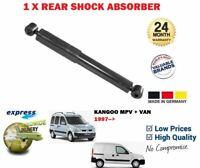 FOR RENAULT KANGOO MPV VAN 1.2 1.4 1.5 DCi 1997-> 1X REAR SHOCK ABSORBER SHOCKER