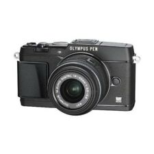 USED Olympus E-P5 16MP with 14-42mm Black Excellent FREE SHIPPING