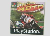 51906 Instruction Booklet - XS Moto - Sony PS1 Playstation 1 (2003) SLES 04095