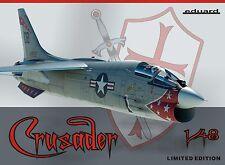 Eduard 1/48 Model Kit 11110 Vought F-8E Crusader Ex Hasegawa