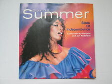 "Donna Summer 7"" 45 rpm PS Vinyl Single State Of Independence 1982"