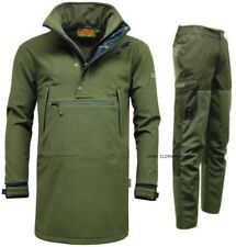 Mens Game Waterproof Smock Jacket Trousers Hunting Fishing Walking