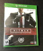 Hitman [ Definitive Edition ] (XBOX ONE) NEW