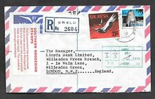 Southern Rhodesia - 1970 postage due cover from Gwelo to London.