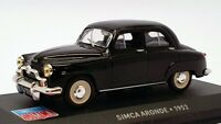 Altaya 1/43 Scale Model Car AL24221H - 1952 Simca Aronde - Black