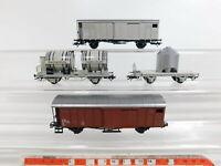 CJ194-0,5# 4x Märklin H0/AC Güterwagen (aus Set 29516) SBB-CFF NEM KK, NEUW