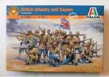 ITALERI 1/72 FIGURES BRITISH INFANTRY AND SEPOYS