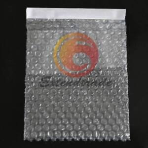 "105 x 155+20mm  4"" x 6"" Air Bubble Self Seal Envelope Cushioning Pouches"