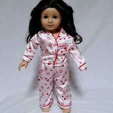 American Girl Doll Jess McConnell Retired GOTY 2006 Brown Eyes Hair Pajamas
