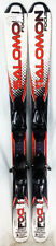 Salomon X-Wing Focus Skis 125 cm with L10 Bindings - Used - Gold