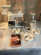 Oster Regency Kitchen Center | 10 Speed Mixer w/ Accessories And Instructions