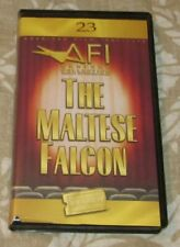The Maltese Falcon 1941 Warner Blockbuster Afi # 23 Clamshell Case Vhs Sealed