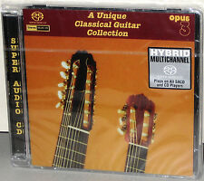 OPUS 3 Hybrid SACD-22062: Unique Classical Guitar Collection - 2008 GERMANY SS