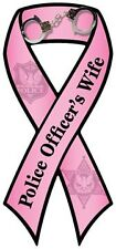 """Police Officer's Wife"" Car Ribbon Magnet  QUALITY"