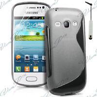 Fundas Carcasa TPU silicona GEL Flexible S Ola Samsung Galaxy Trend S7560