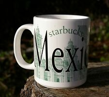 Mexico City 2002 Starbucks Coffee Company Mug Collector Series Broken Handle