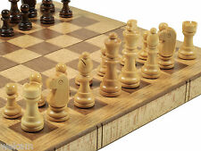 Wooden Book Tape Folding Chess board wood brown