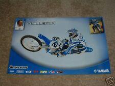 David Vuillemin #12 Yamaha 2005 Poster 125 250 450F
