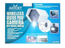 Avocet AVL-AC-WWMP Wireless Weatherproof IP44 Camera with Portable Monitor