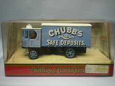 MATCHBOX MODELS OF YESTERYEAR Y-37 1929 GARRETT STEAM WAGON - CHUBB'S SAFE DEP.