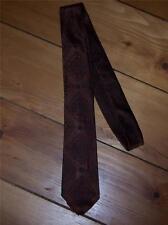 Mens Necktie Bronze San Milo design Silk Charles Levinsohn Asbury Park Vintage