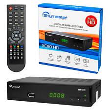 Skymaster XC80 HDMI DVB-C DVBC HD Kabel Fernsehen TV Receiver HDMI Kabeltuner