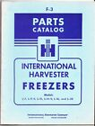 International Harvester Freezers Parts Service Repair Manual IH F-3 Catalog photo