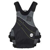 NRS Vapor Adult Large X-Large PFD Type III Boating Kayak Life Jacket Vest, Black