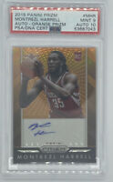 ROOKIE! 2015-16 Montrezl Harrell Panini Prizm RC Auto (ORANGE #12/65) PSA 9/10!