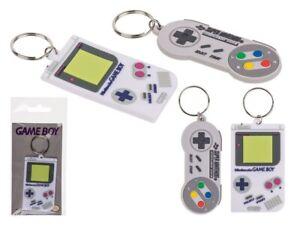 Neu Offiziell Nintendo Retro Schlüsselanhänger Joypad Gameboy Snes Controller UK